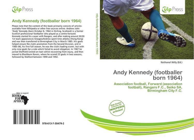 Andy Kennedy (footballer, born 1964) Andy Kennedy footballer born 1964 9786137304792 6137304795