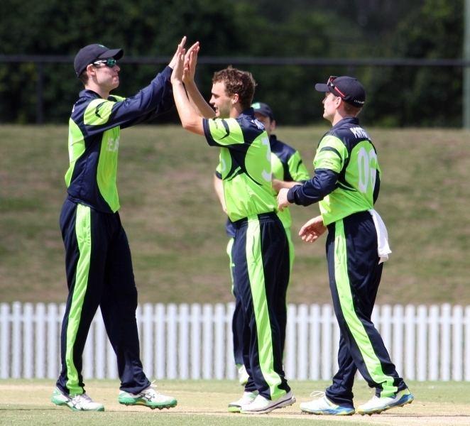 Andy McBrine Teams Cricket Ireland