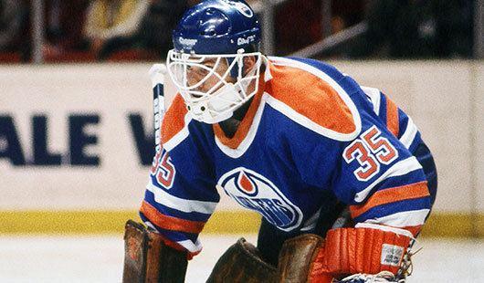 Andy Moog 4 Andy Moog WHL Edmonton Oilers Top 5