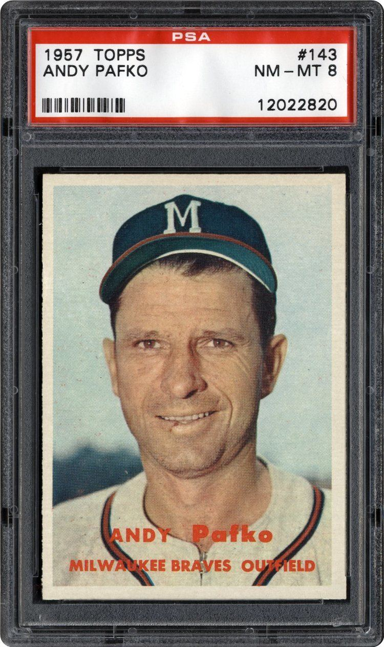 Andy Pafko 1957 Topps Andy Pafko PSA CardFacts