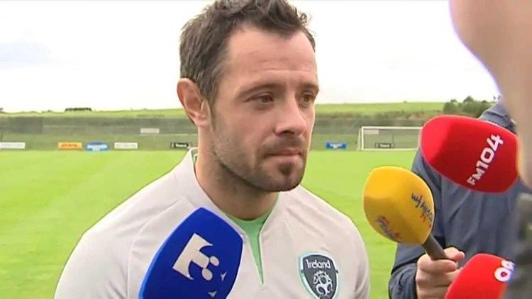 Andy Reid (Irish footballer) Germany v Republic of Ireland Pre Match Interview Andy Reid 9