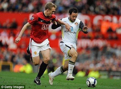 Andy Reid (Irish footballer) STONE ME Its Andy Reid The Sunderland midfielder once mocked for