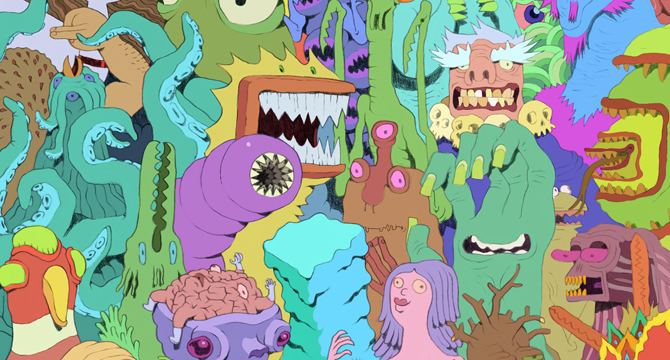 Andy Ristaino Getting 39Skronked39 w 39Adventure Time39 Character Designer