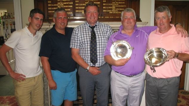 Andy Roberts (footballer) Brother Open 2014 report Chislehurst Golf Club in Kent
