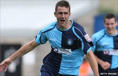 Andy Sandell BBC Sport Andy Sandell eyes nonleague happiness after