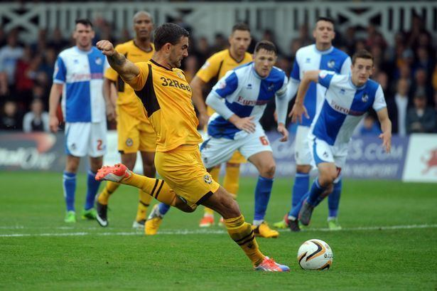 Andy Sandell Newport County 1 0 Bristol Rovers Exiles maintain