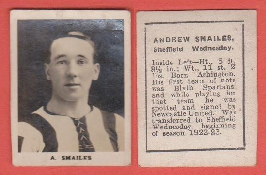 Andy Smailes Sheffield Wednesday Andy Smailes