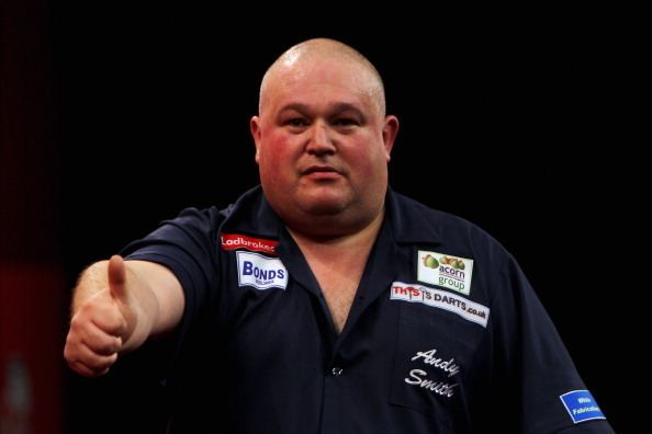 Andy Smith (darts player) The life of Pie Meet Andy Smith the happiest player on planet