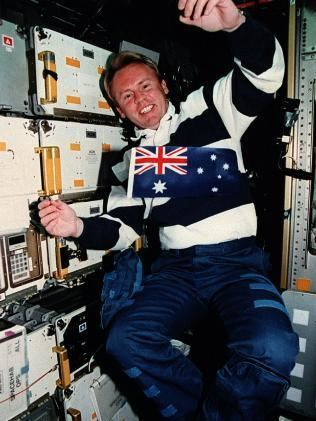 Andy Thomas Adelaide astronaut Andy Thomas retires from NASA to live on Texas