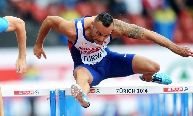 Andy Turner (hurdler) Athletics Weekly Andy Turner model ambition Athletics Weekly