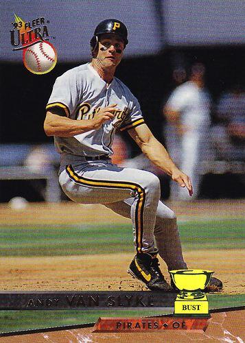 Andy Van Slyke Baseball Card Bust Andy Van Slyke 1993 Fleer Ultra