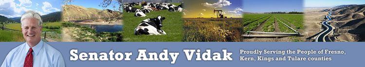 Andy Vidak Senator Andy Vidak 14th Senate District
