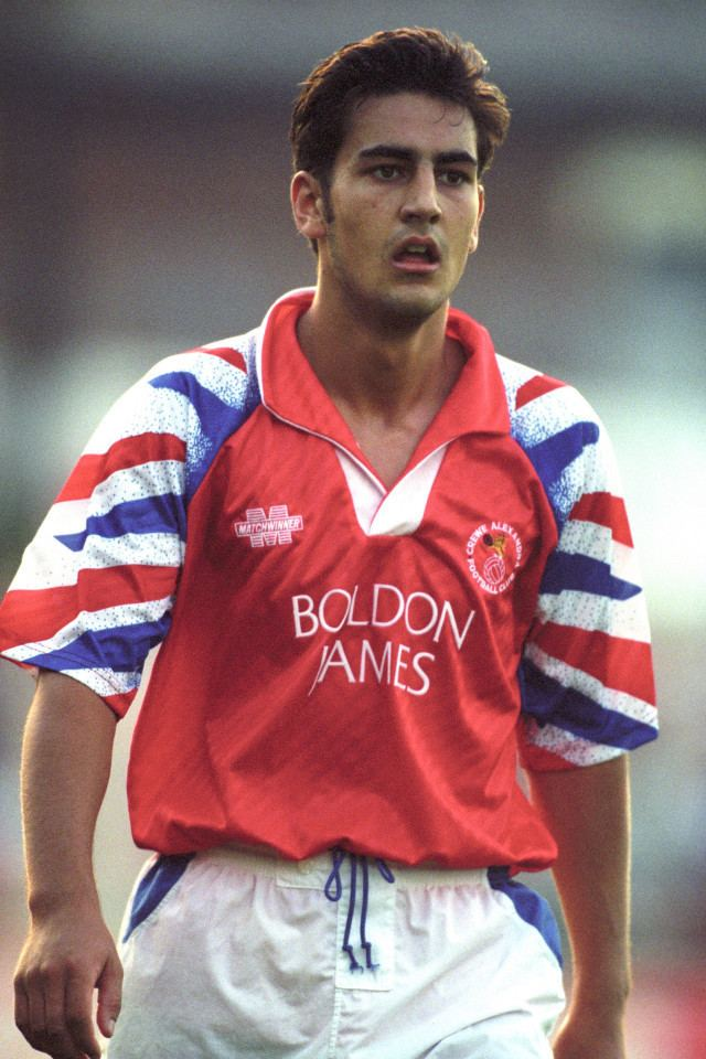 Andy Woodward Who is Andy Woodward Former Crewe player at heart of football child