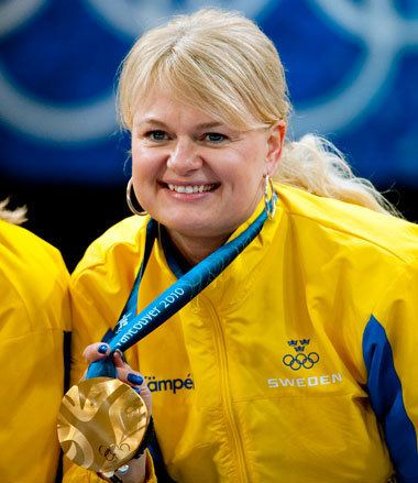 Anette Norberg Ingen jakt p tredje OSguldet Sveriges Olympiska Kommitt