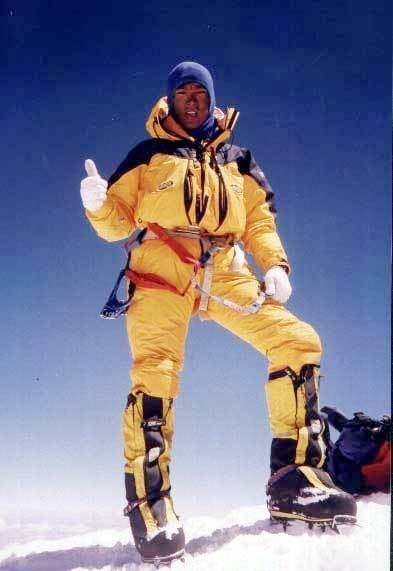 Ang Dorje Sherpa Mt Everest 2005 Chhuldim Ang Dorjee Sherpa aka Ang Dorjee Sherpa
