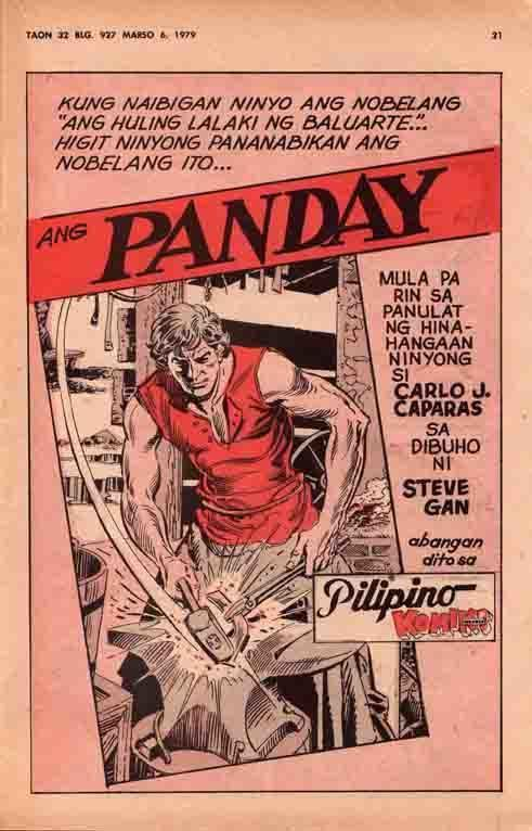 Ang Panday (1980 film) Pinoy Superheroes Universe ANG PANDAY Long Live Da King