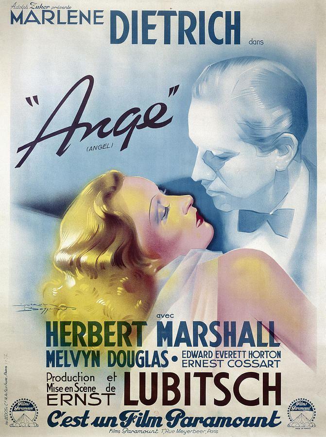Angel (1937 film) Poster Angel 1937 Photograph by Granger