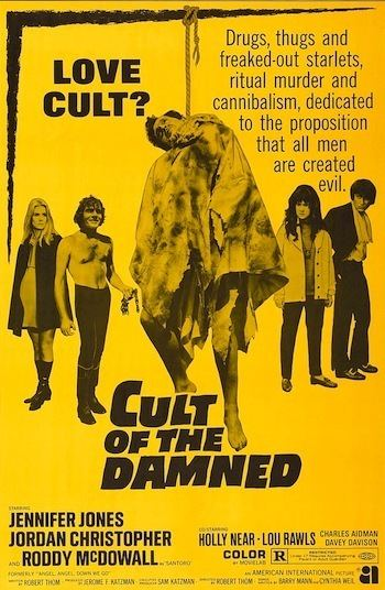 Angel, Angel, Down We Go CULT OF THE DAMNED DVD ANGEL ANGEL DOWN WE GO 1969 Movie on DVD