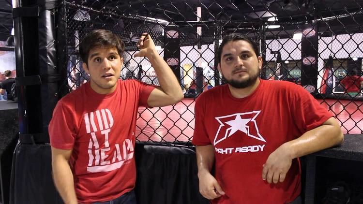 Angel Cejudo UFCs Henry and his brother Angel Cejudo Talk about Olympus