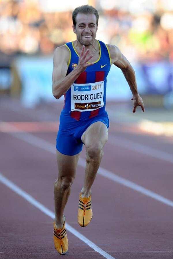 Angel David Rodriguez ngel David Rodrguez consigue 1025 en los 100m MARCAcom