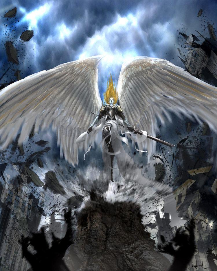 Angel of Destruction Illustrious Angel by d1eselx on DeviantArt