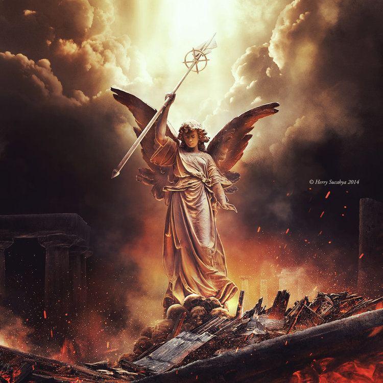 Angel of Destruction Angel of Destruction by herryC on DeviantArt