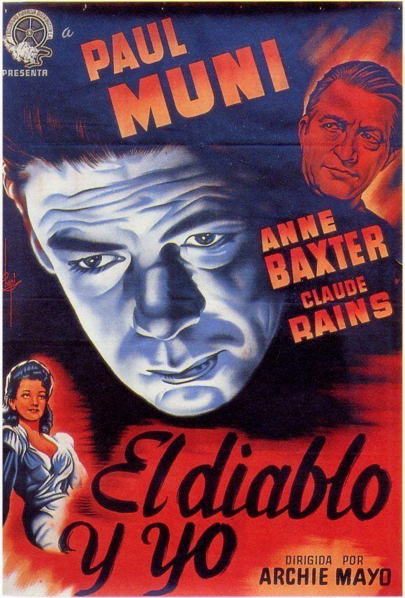 Angel on My Shoulder (film) Film Noir Friday Angel On My Shoulder 1946 Deranged LA Crimes