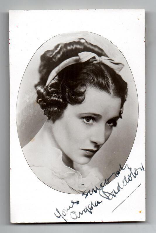 Angela Baddeley Clickautographs search results