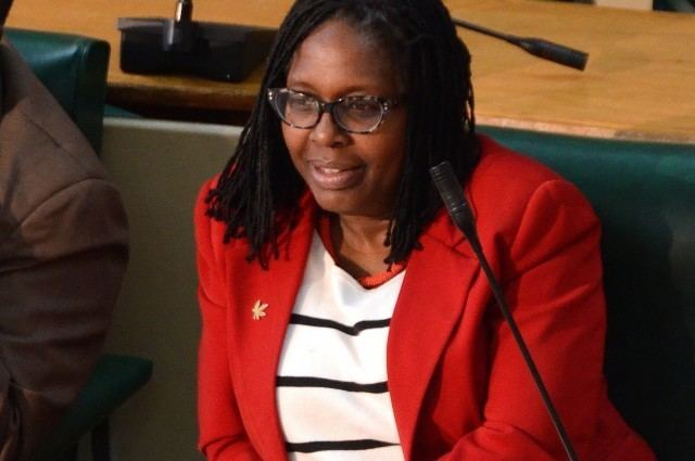 Angela Brown-Burke Senators Commend Brown Burke for Attaining PhD Jamaica