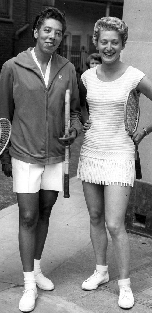 Angela Buxton Doubles partners smash prejudice as 1956 Wimbledon champs
