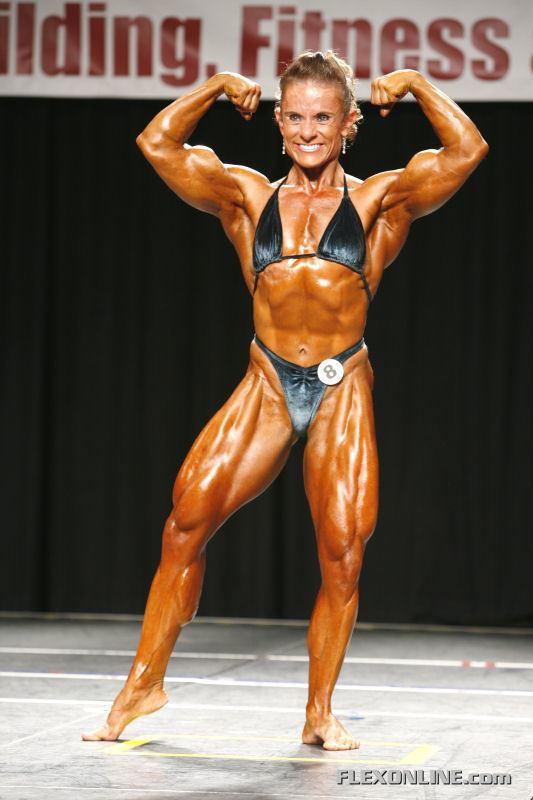 Angela Debatin IFBB Professional League The 2008 Atlantic City Pro Part 5