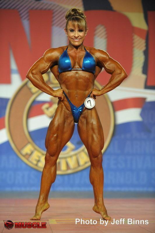 Angela Debatin Angela Debatin Bodybuildster IFBB Pro Brazilie 28