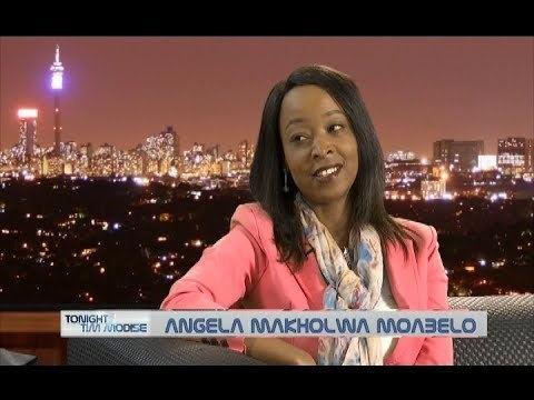 Angela Makholwa Tonight with Tim Modise Author Angela Makholwa Moabelo on