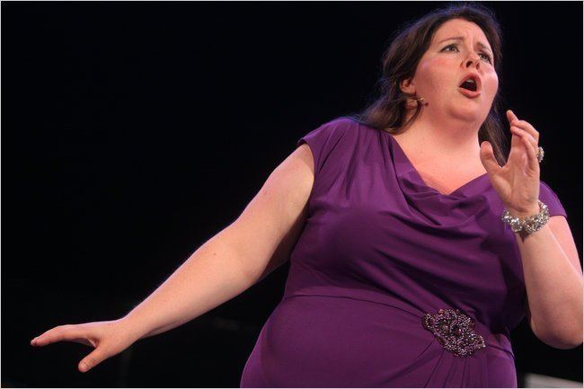 Angela Meade Met Opera Recital at SummerStage in Central Park Review