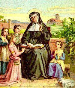 Angela Merici St Angela Merici Saints Angels Catholic Online