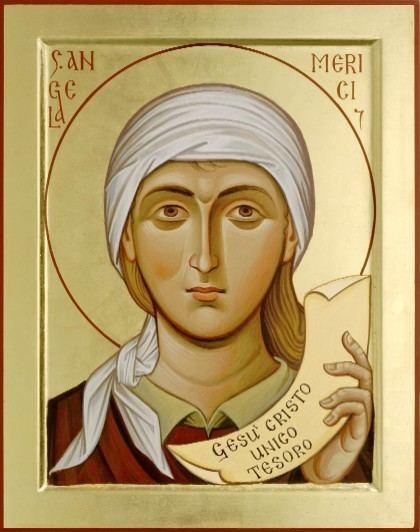 Angela Merici Jan 27 St Angela Merici Founder National Catholic