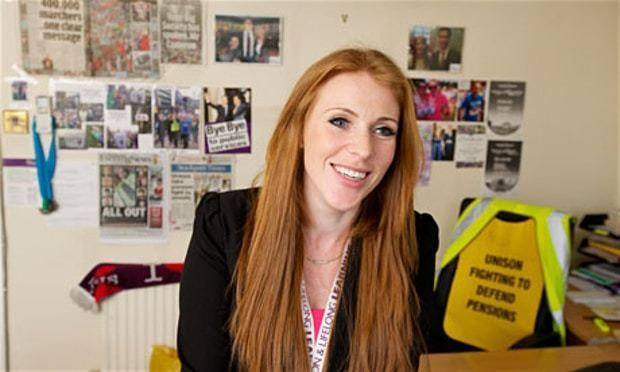 Angela Rayner A working life the union official Money The Guardian