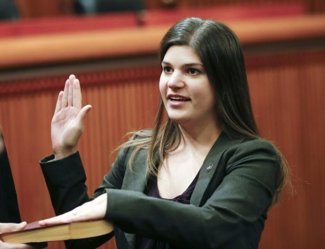 Angela Wozniak Assemblywoman Angela Wozniak accused of sexual harassment