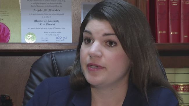 Angela Wozniak Assemblywoman accused of sexual harassment wivbcom