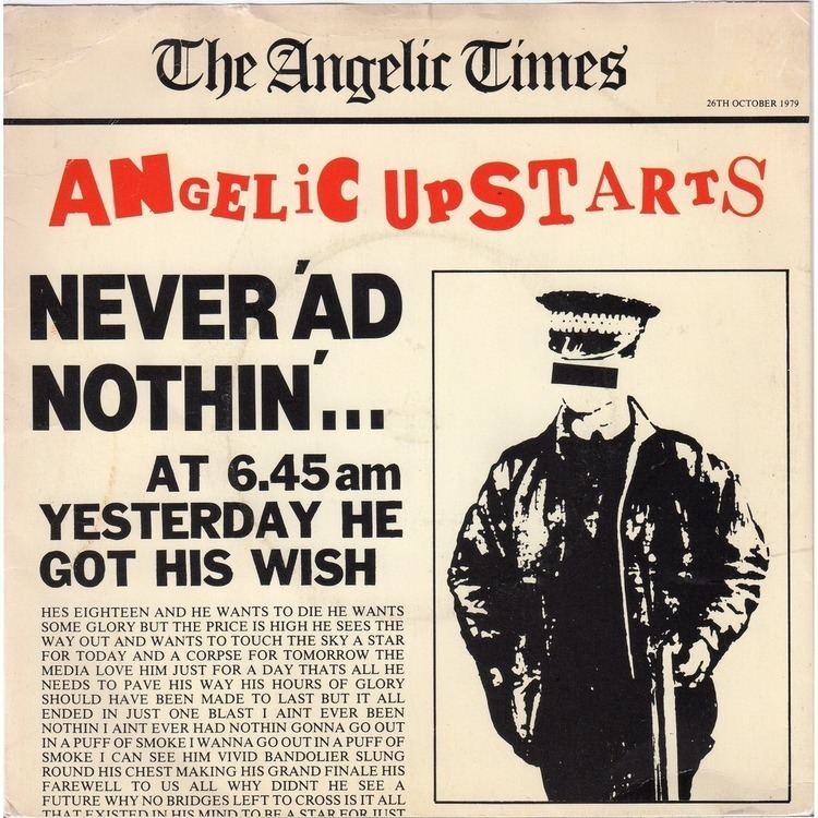 Angelic Upstarts Angelic Upstarts London 2015 standupandspit