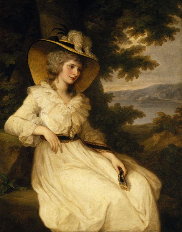 Angelica Kauffman FileAngelica Kauffman portrait of Lady Elizabeth Foster