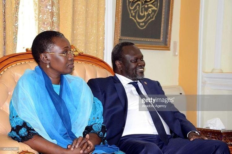 Angelina Teny Dr Riek Machar Teny Angelina Teny BedRoom Politics SIXTY 4 TRIBES