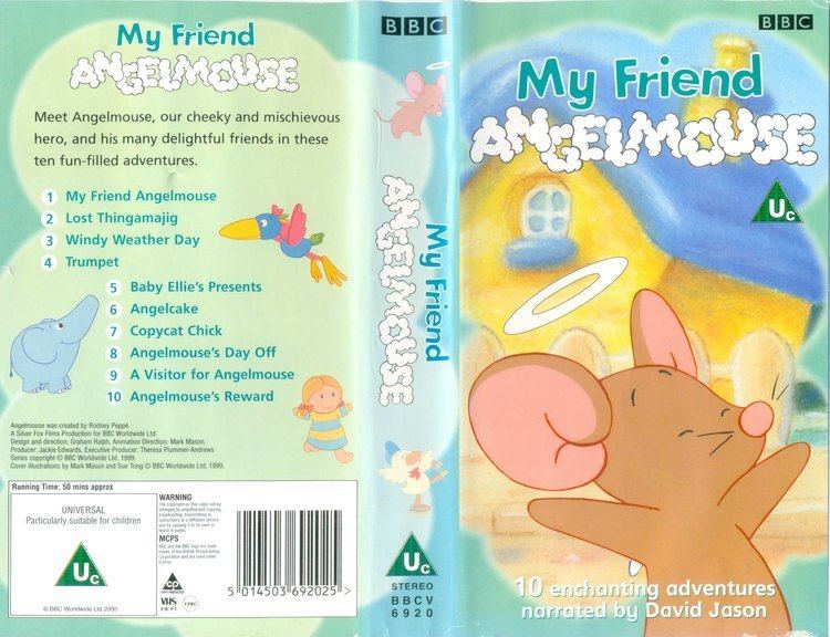 Angelmouse My Friend Angelmouse BBCV 6920 VHS conversion YouTube