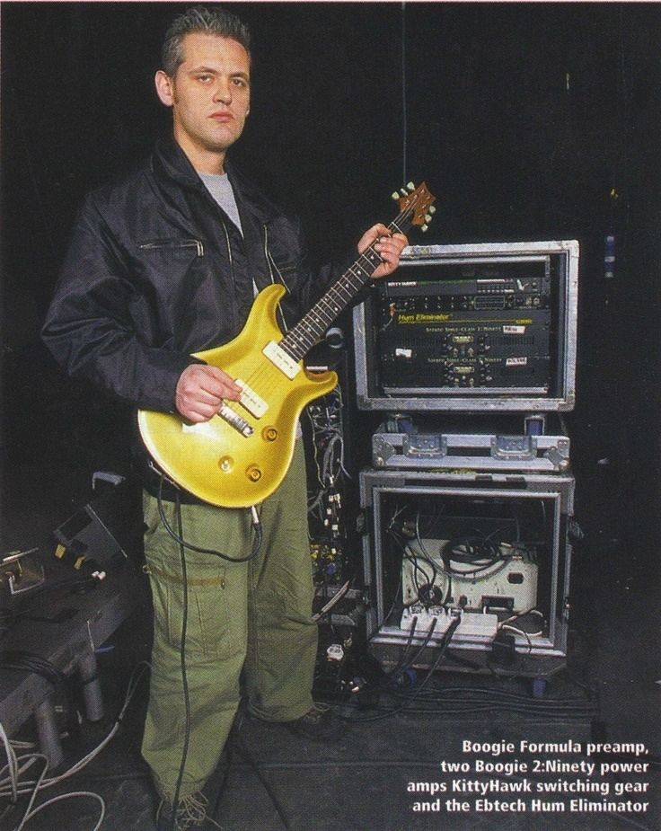 Angelo Bruschini Angelo Bruschini lead guitarist for Massive Attack since 1995