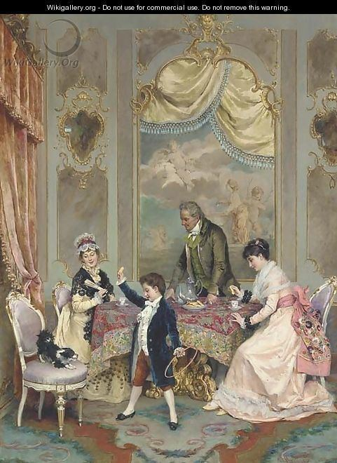 Angelo Martinetti Tea time Angelo Martinetti WikiGalleryorg the largest gallery