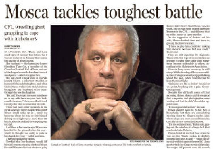 Angelo Mosca Angelo Mosca39s Alzheimer39s diagnosis has other players