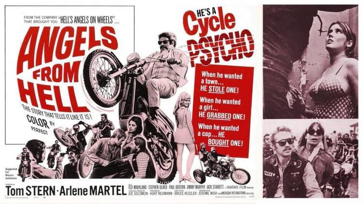 Angels from Hell Stu Phillips Angels from Hell 1968 Angels from Hell 4 OClock