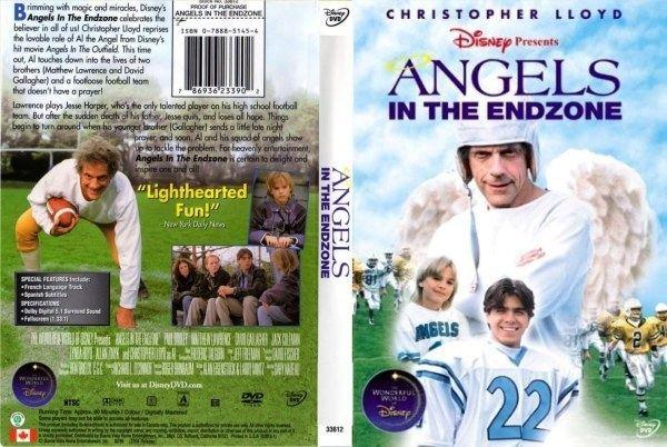 Angels in the Endzone Angels In The Endzone 786936238341 Disney DVD Database