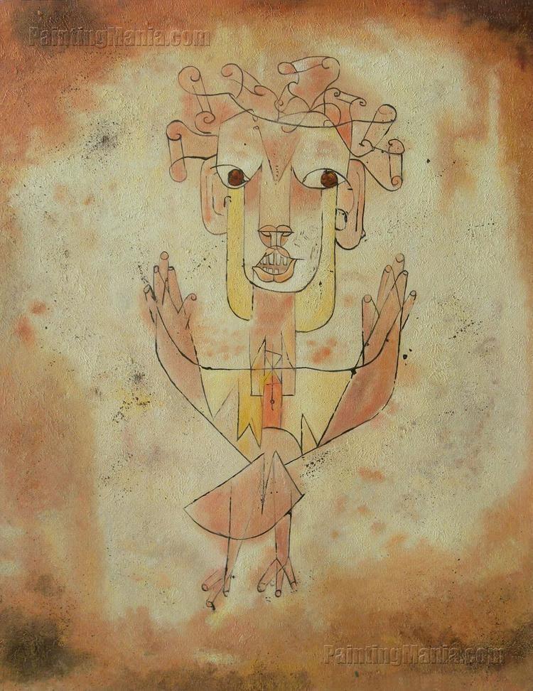 Angelus Novus Angelus Novus The New Angel Paul Klee Paintings