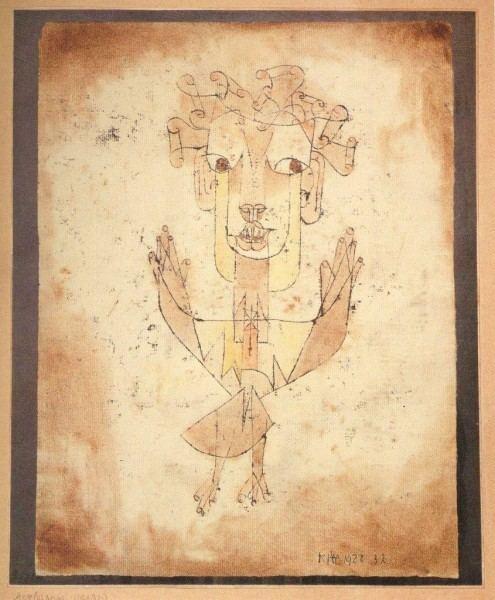 Angelus Novus Angelus Novus Paul Klee